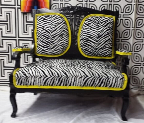 Zebra & Neon