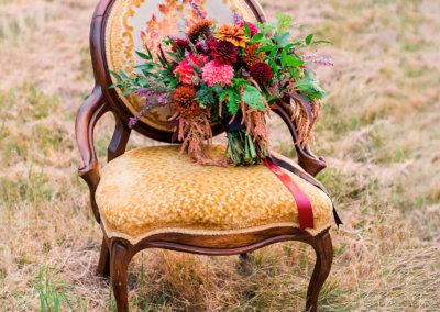 Boho Fall Slipper Chair