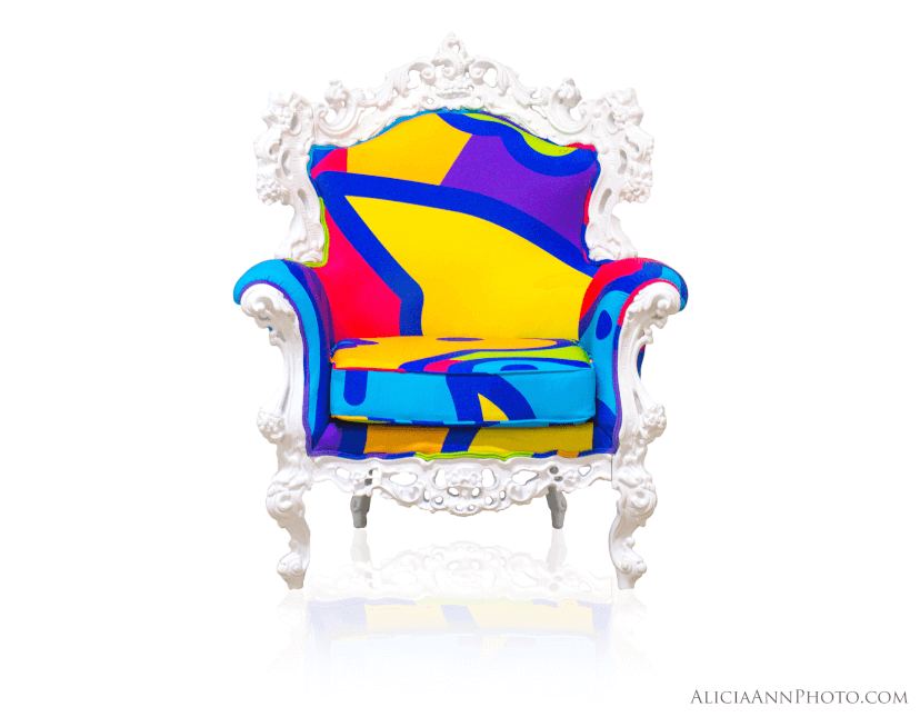 Nickelodeon Patterned Chair