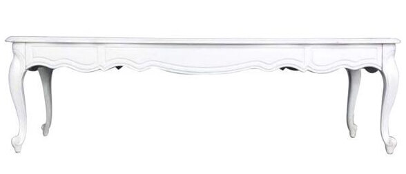 White French Coffee Table | Uniquely Chic Vintage Rentals