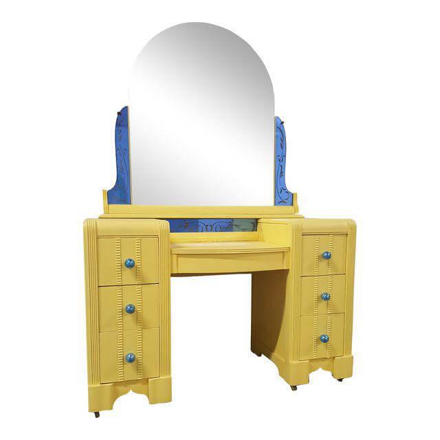 Bright Yellow & Blue