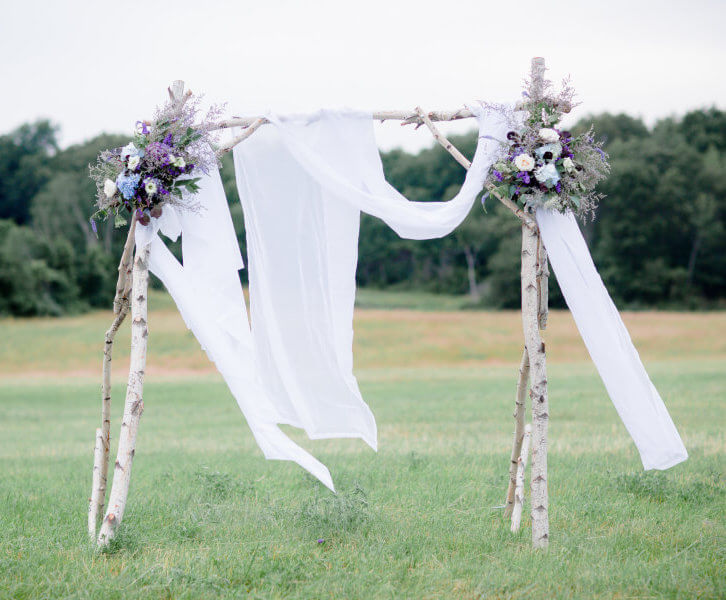 Birch Arbor (Customizable) | Uniquely Chic Vintage Rentals