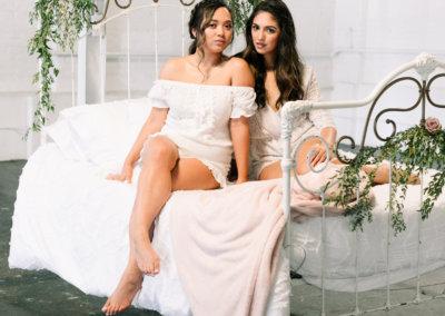Bridal Boudoir Bed Swing