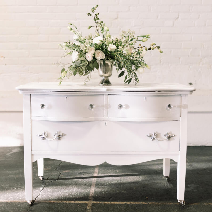 Crystal Detail Petite Sidebar | Uniquely Chic Vintage Rentals