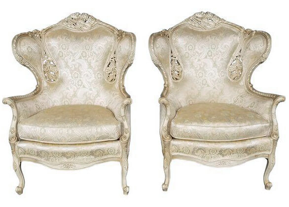 White French Bergere Chairs | Uniquely Chic Vintage Rentals