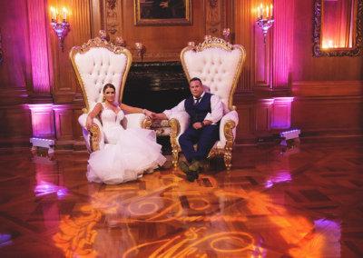 Royalty at Aldrich Mansion