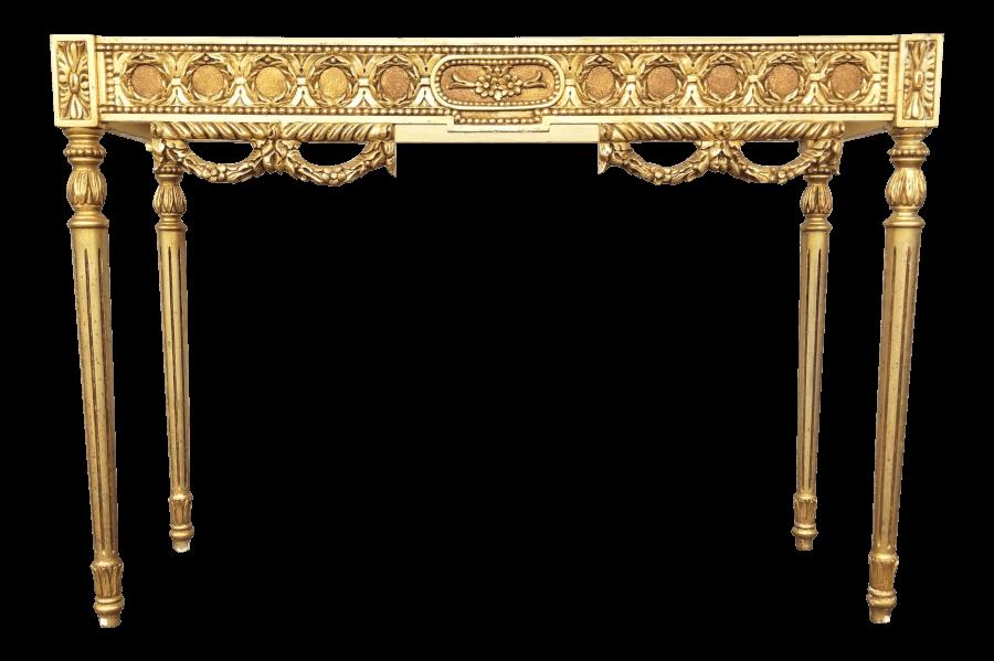 Gilded Rococo Table | Uniquely Chic Vintage Rentals
