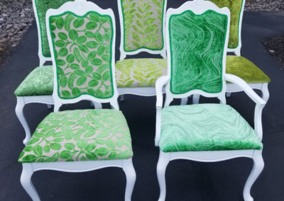 Mix n Match Green Upholstery