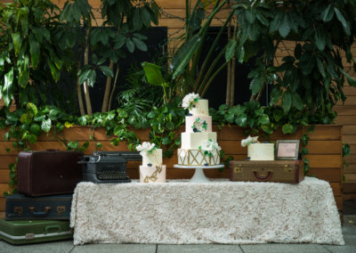Eclectic Boho Cake Table