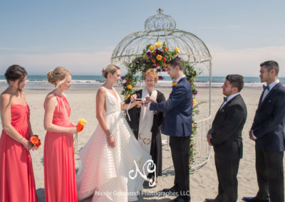 Tying the Knot by the Gazebo