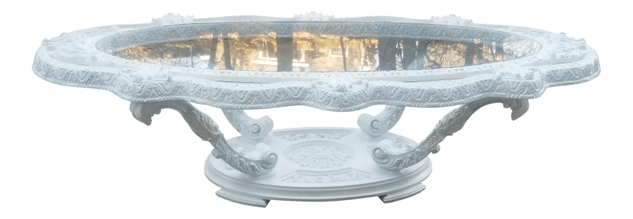 Victorian Pearl Coffee Table | Uniquely Chic Vintage Rentals