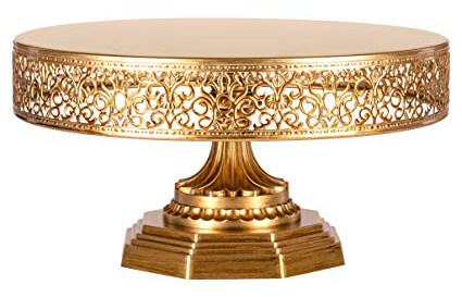 Gold Filigree Cake Stand | Uniquely Chic Vintage Rentals