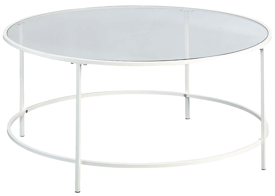 Silver Round Coffee Table | Uniquely Chic Vintage Rentals