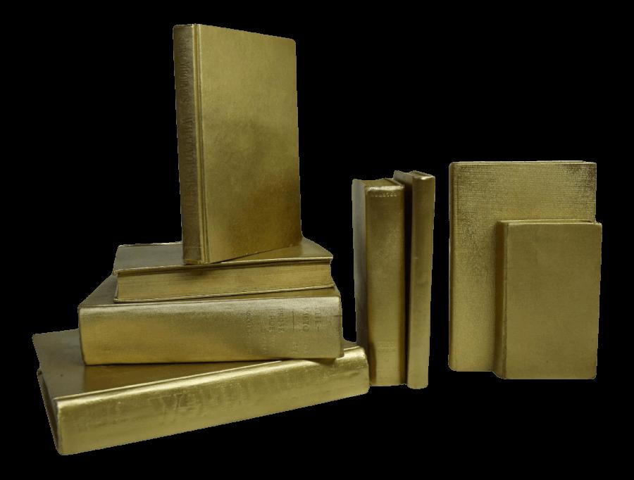 Gold Books | Uniquely Chic Vintage Rentals