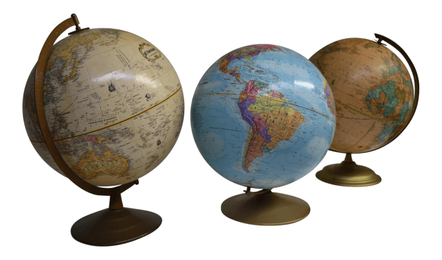 Vintage Globes | Uniquely Chic Vintage Rentals