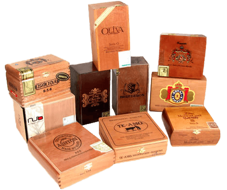 Cigar Boxes & Cigar Bar Decor | Uniquely Chic Vintage Rentals