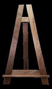 Rustic Wood Easel | Uniquely Chic Vintage Rentals