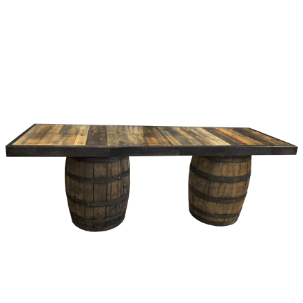 Whiskey Wine Barrel Bar