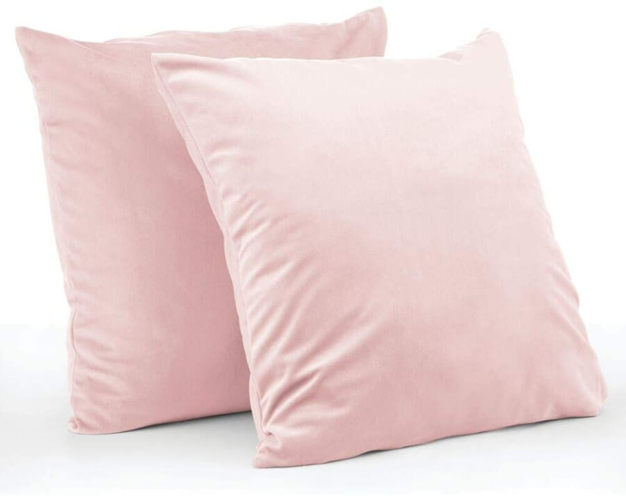 Blush Pink Throw Pillows
