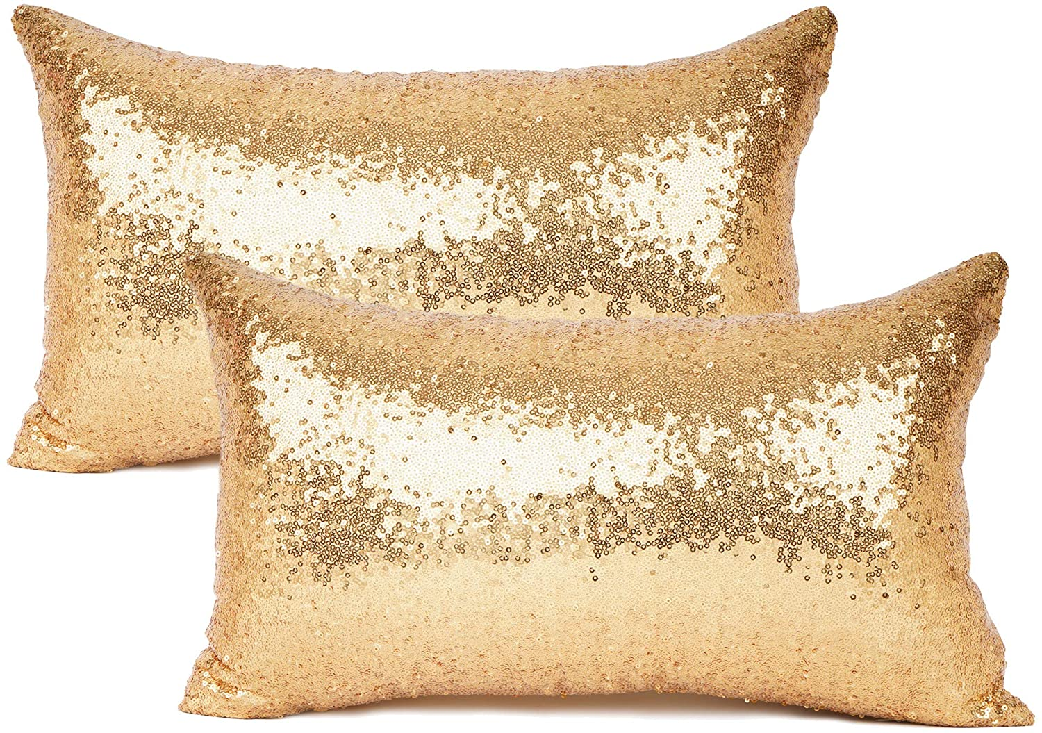 Gold Sequin Pillows