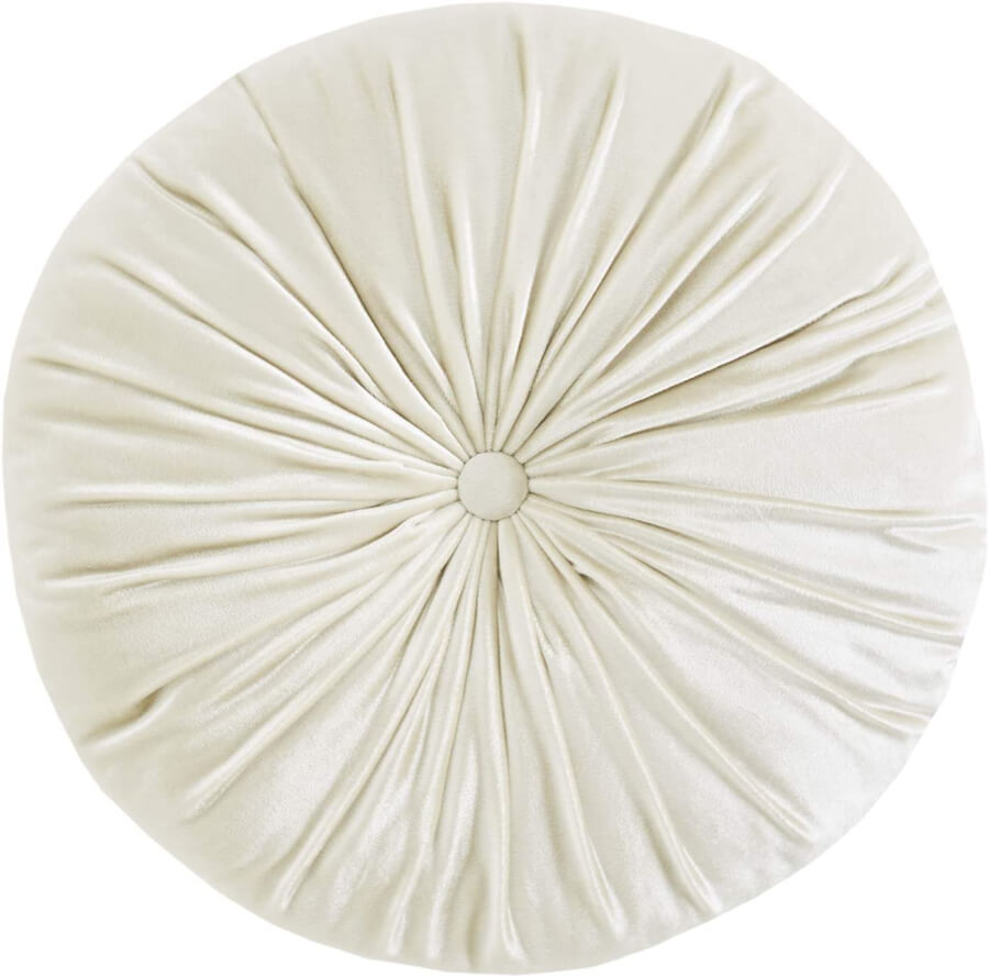 Ivory Pintuck Pillow