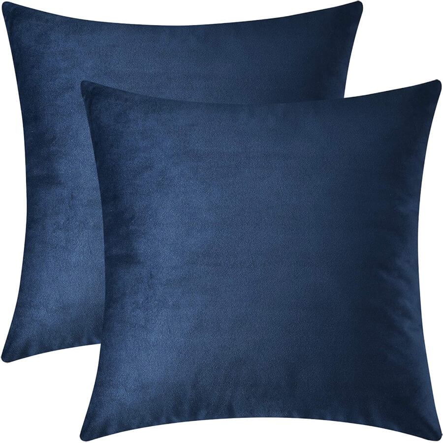 Navy Blue Accent Pillows