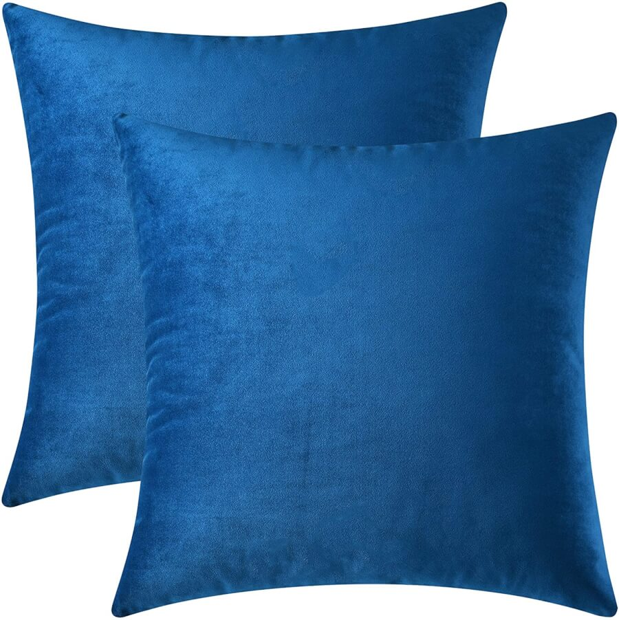 Royal Blue Accent Pillows