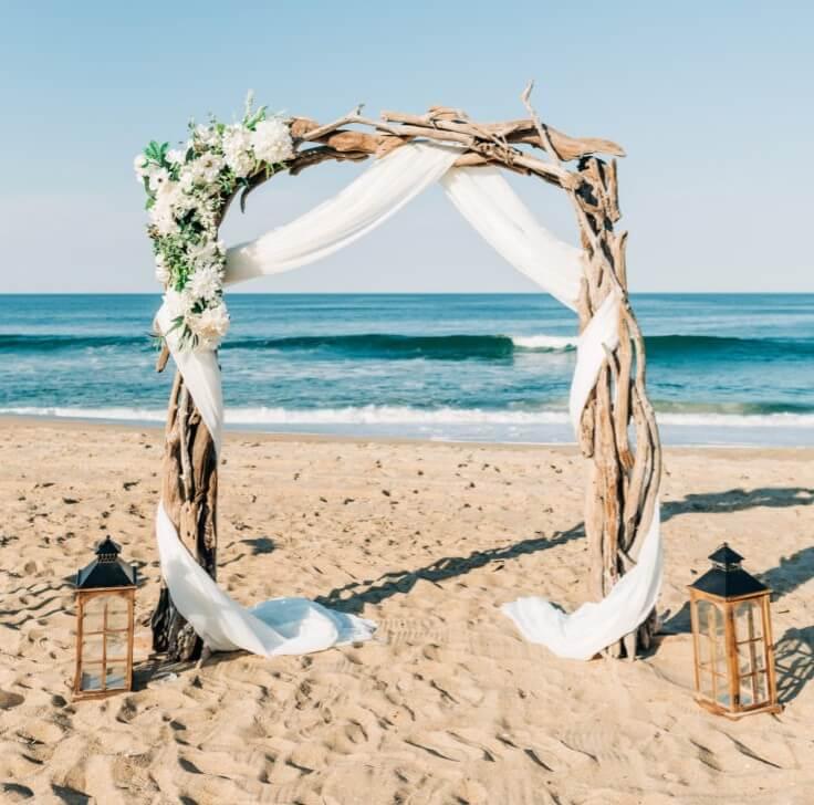 Driftwood Wedding Arch/Arbor