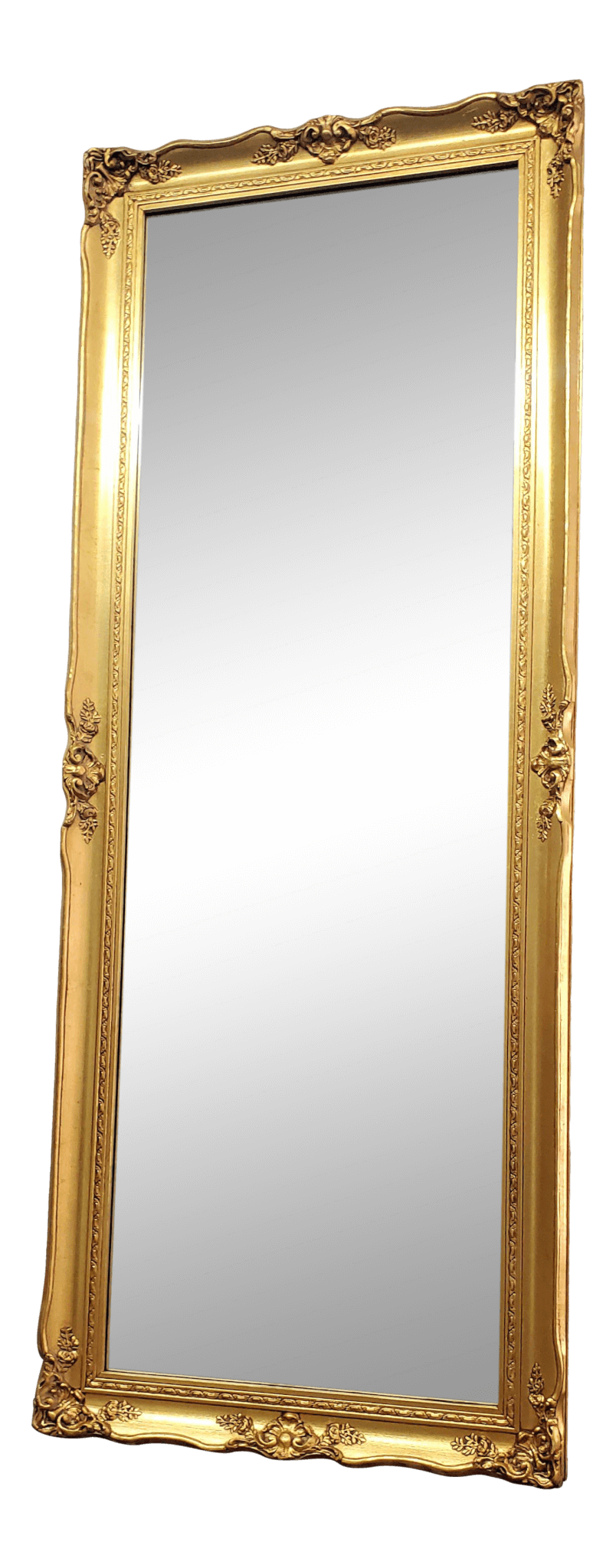 Tall French Gold Mirror