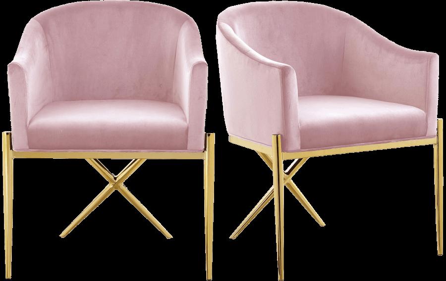 Mod Blush Pink Chairs