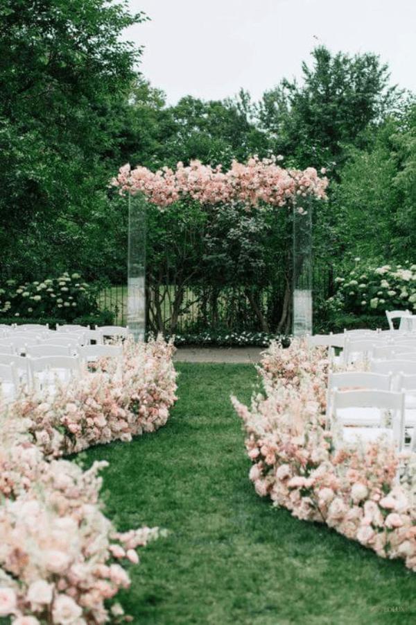 Acrylic Ceremony Arbor