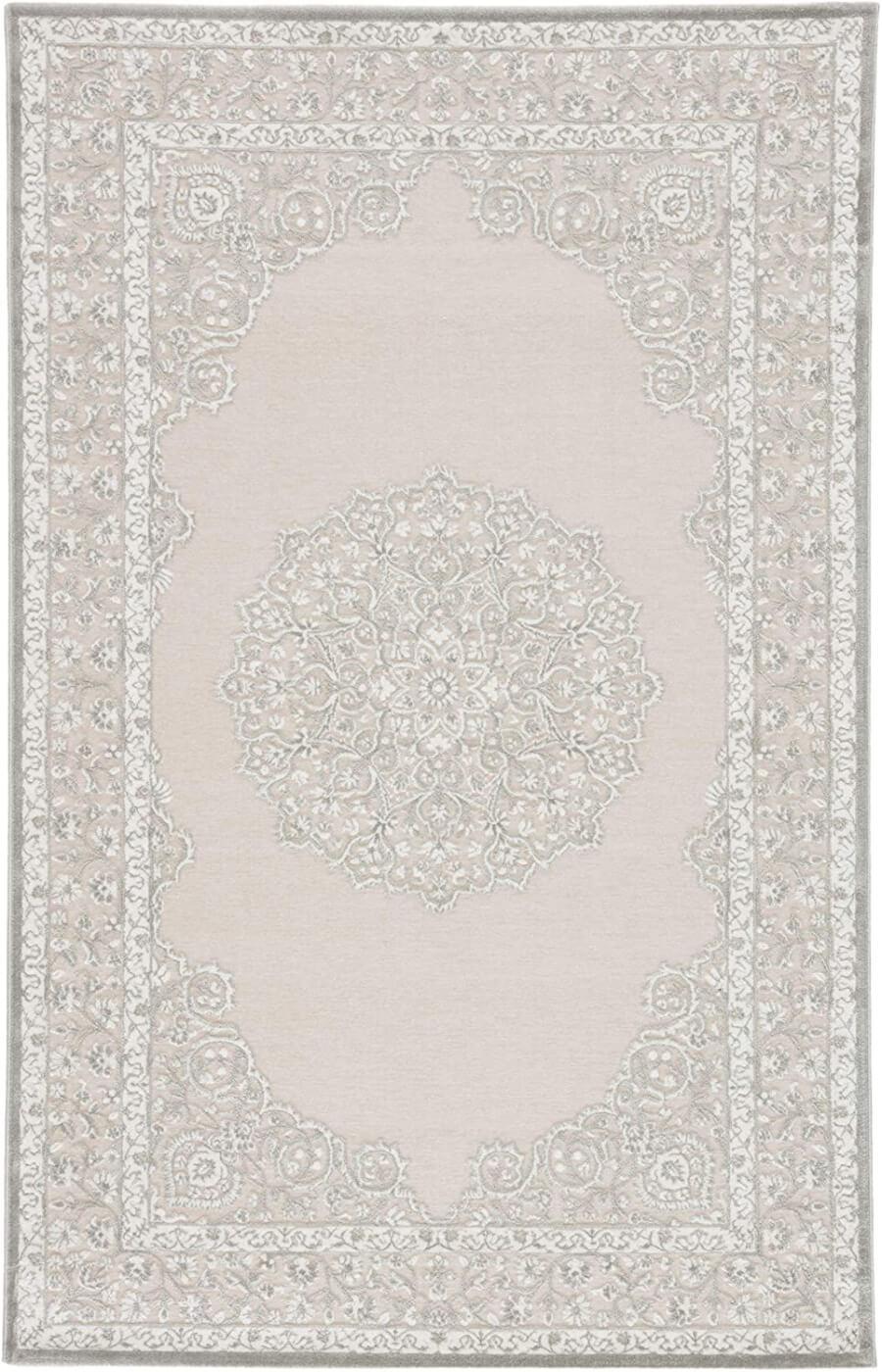 White Oriental Rug