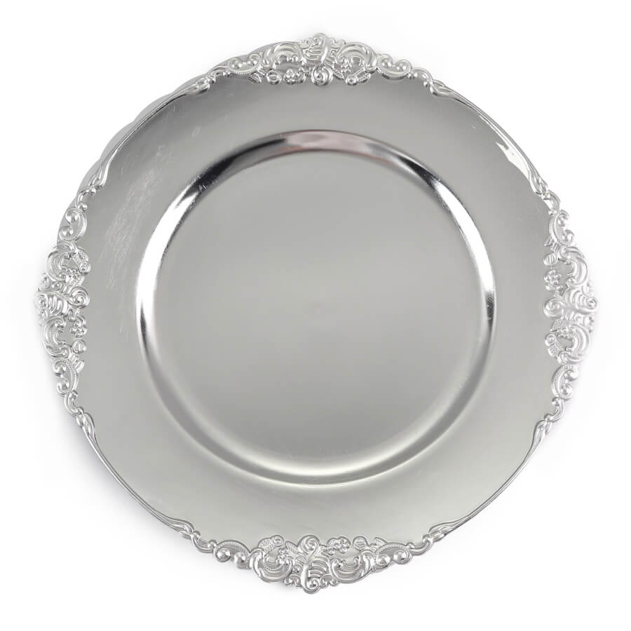 Victorian Silver Charger