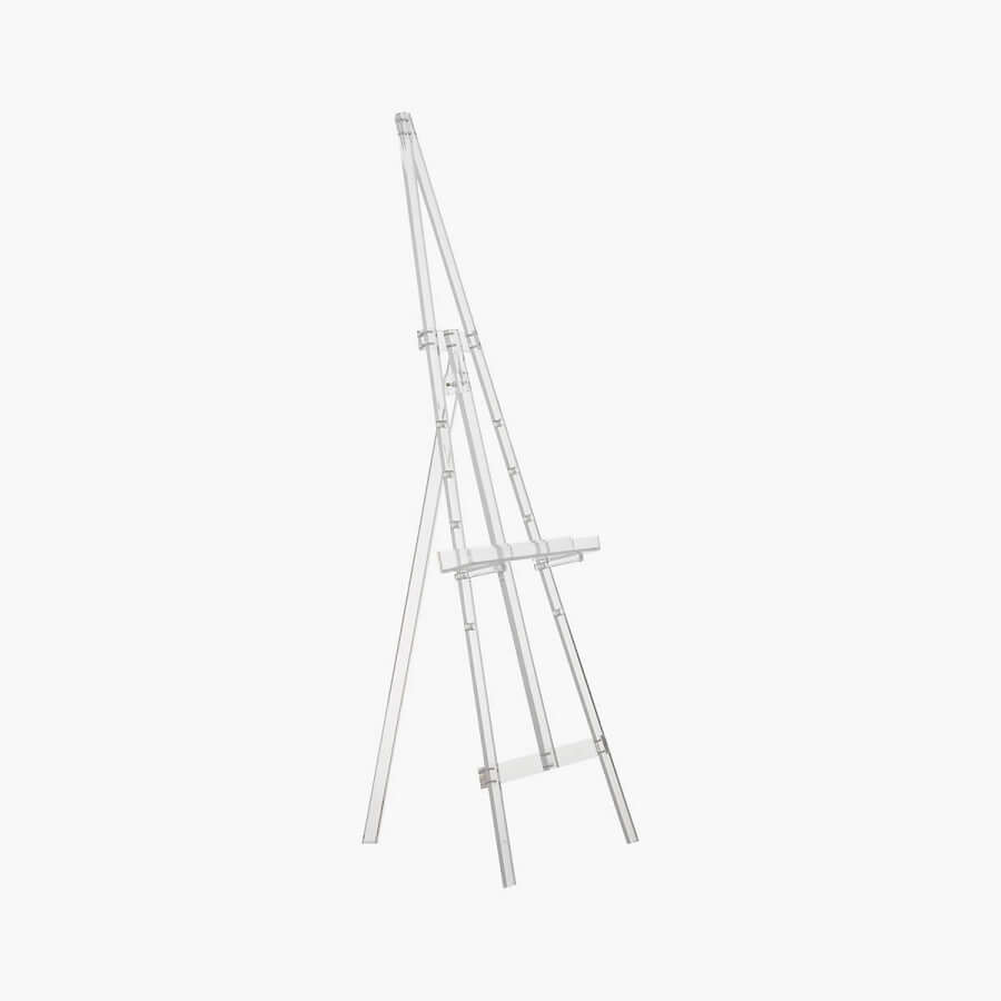 Clear Acrylic Standing Easel