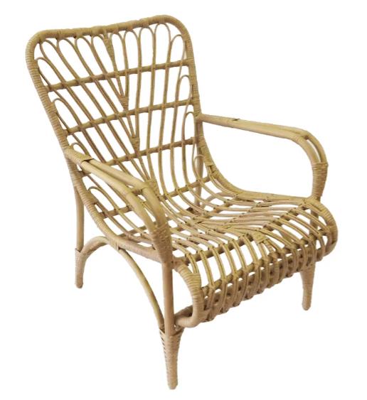 Boho Bamboo Lounge Chairs
