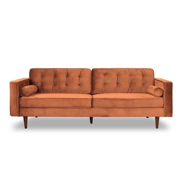 Boho Terracotta Sofa