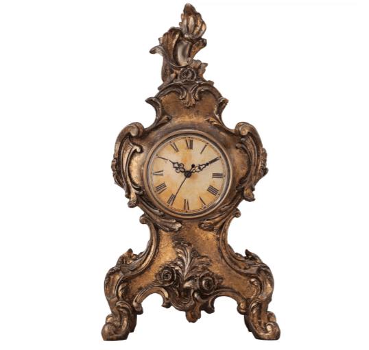 Gold Victorian Mantel Clock