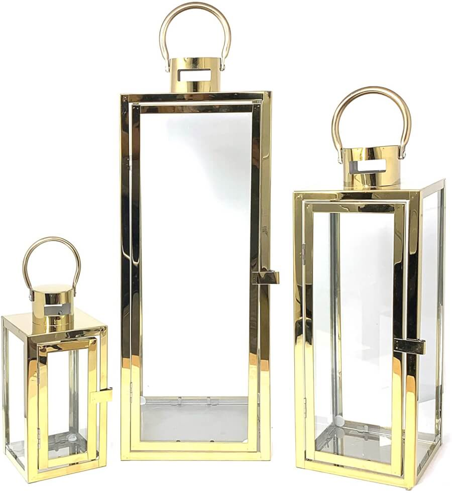 Classic Gold Lanterns